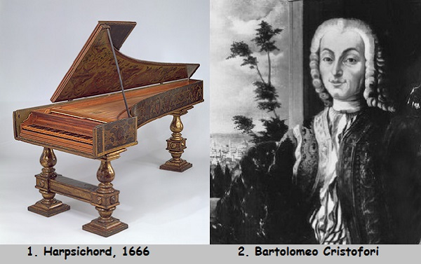 Bartolomeo Cristofori and Harpsichord