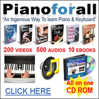 Piano For All Lessons