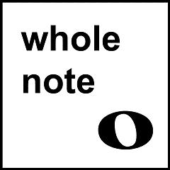 Whole note symbol
