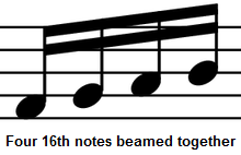 Learn to play the piano - Lesson 7 - Music Rests and Note ...