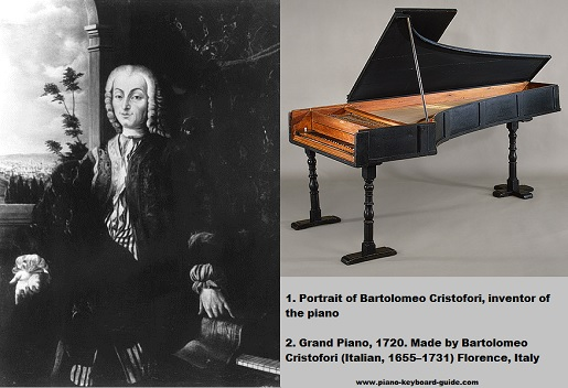 Bartolomeo Cristofori, inventor of the piano