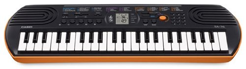 Casio mini piano keyboard.
