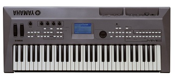 A digital (electronic) keyboard.
