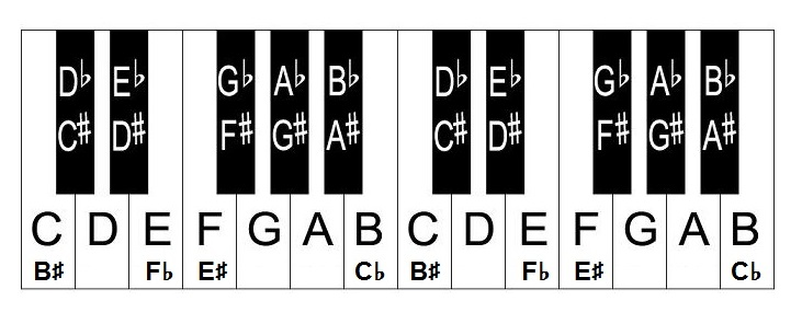 Piano Key Notes For Beginners – How To Label Piano Keyboard