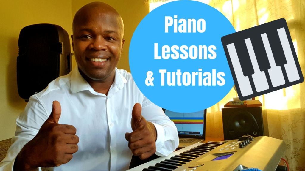 Learn scales on keyboard