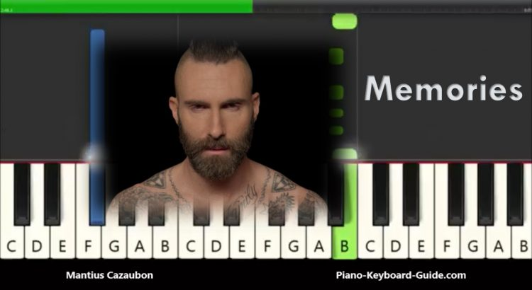 Maroon 5 Memories Easy Piano Tutorial How To Play