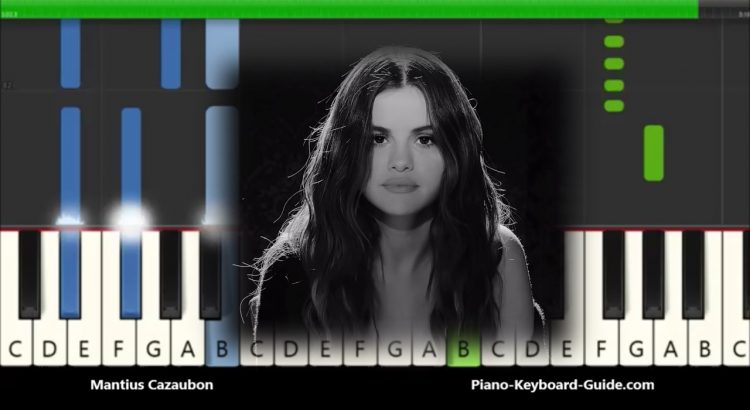 Selena Gomez Lose You To Love Me Piano Notes Easy Tutorial